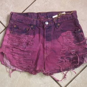 Levi's Button Fly Shorts